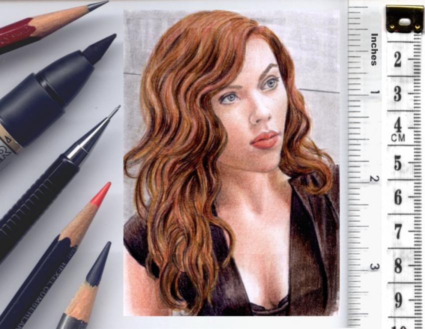 Scarlett Johansson par wu-wei
